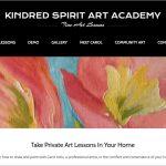 kindred-spirit-art-academy-colorado-springs-website-mediatrunk