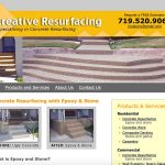 kreative-resurfacing-business-website-colorado-springs