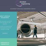 Aerokam Engineering Web Site by Mediatrunk Jamie Wilke